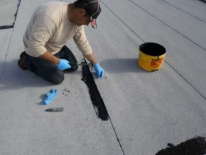 flat-roof repair Roswell